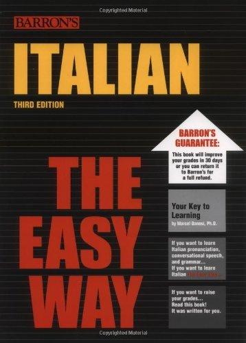 Italian the Easy Way (Easy Way Series)