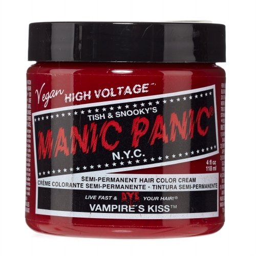 (3 Pack) MANIC PANIC Cream Formula Semi-Permanent Hair Color - Vampire's Kiss