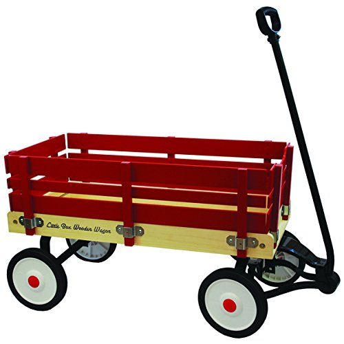 Little Box 34 Inch Wood Paneled Wagon by Enertec