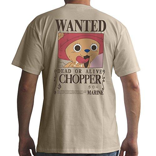 One Camiseta Basic Sand Hombre Piece Mc Wanted Chopper tqwfxt0rg