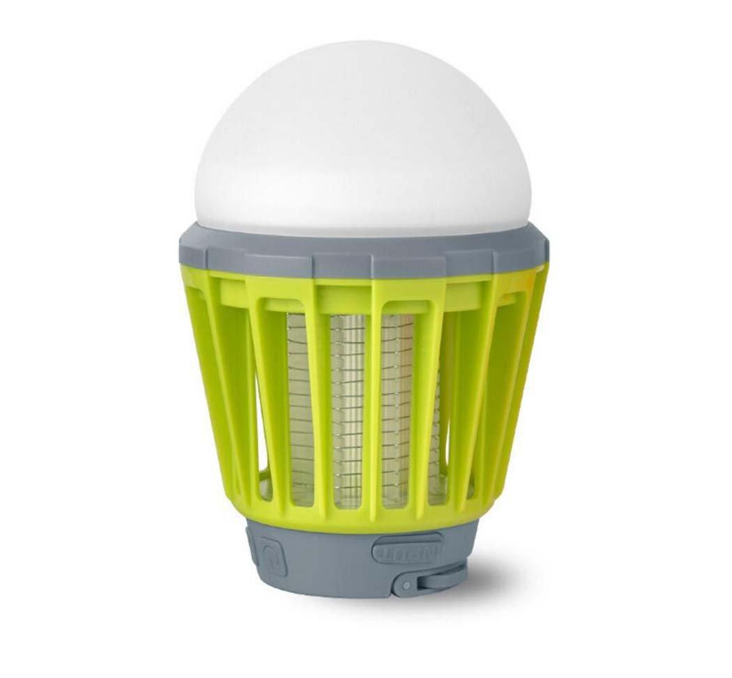 fino al 70% di sconto Repellente per insetti insetti insetti Lavabile LED Zanzara tiro Multifunzione LED Bulb Outdoor Portatile Mosquito Killer Fly zanzara tiro Camping Tenda USB Impermeabile Dimmerabile (colore   verde)  promozioni di sconto