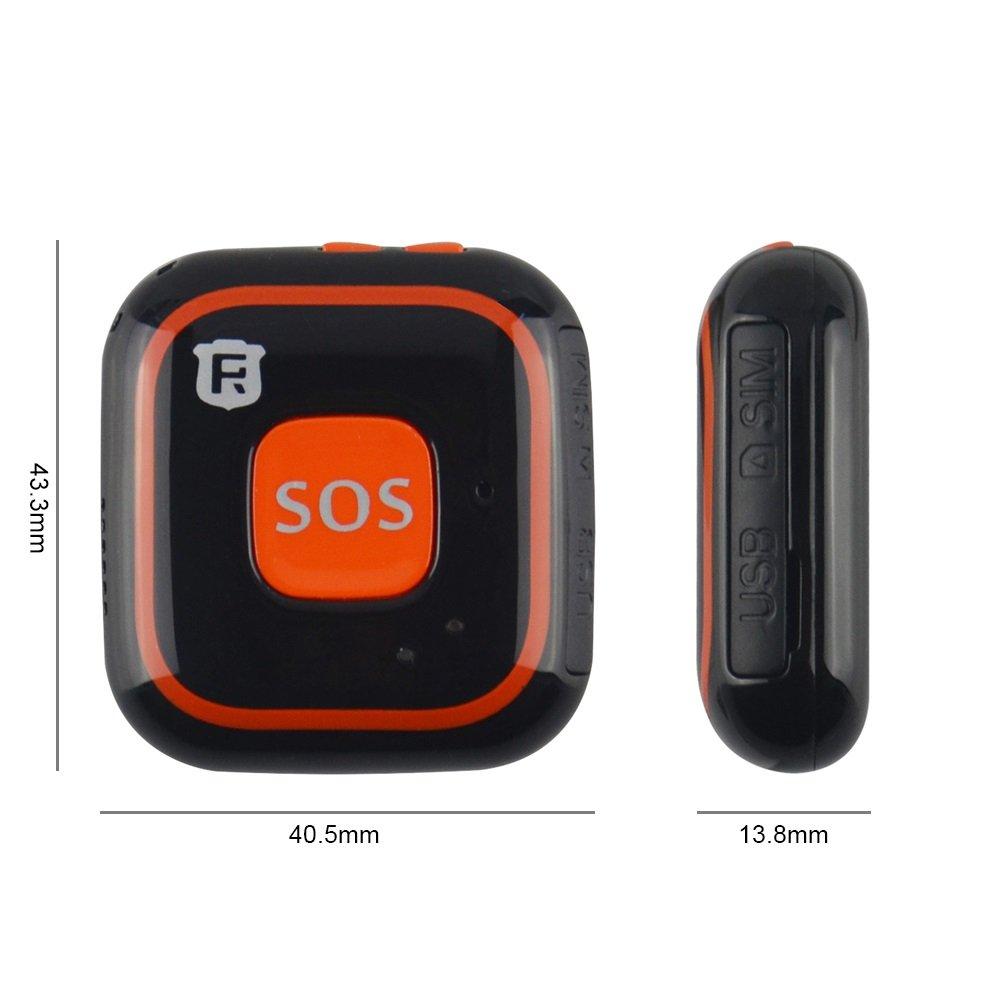 ★★★★★ Localizador + Comunicador SOS móvil, localizador GPS Personas Mayores/Abuelos/Ancianos/niños, Alarma Personal móvil y SIN cuotas mensuales ★★★★★