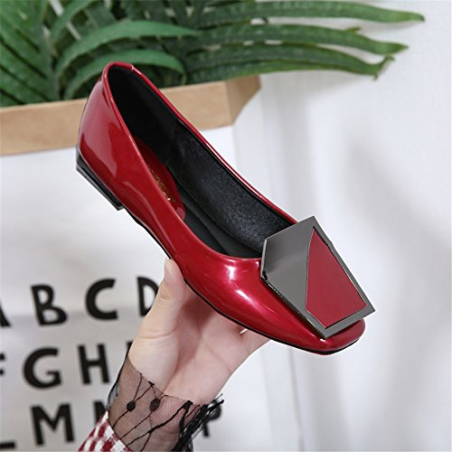 Shoes Fashion Soft A Ladies Lightweight Flat Women's Casual Slip Breathable Heel Shoes on Comfy Flats wt4FRnq