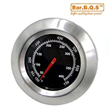 New Bar.B.Q.S Grill Smoker BBQ Barbecue Thermometer Temp Gauge Camping Cook 76mm 01T04