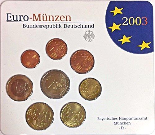 DE 2003 Germany 2003 Euro Official Coin Set Special Editi Good
