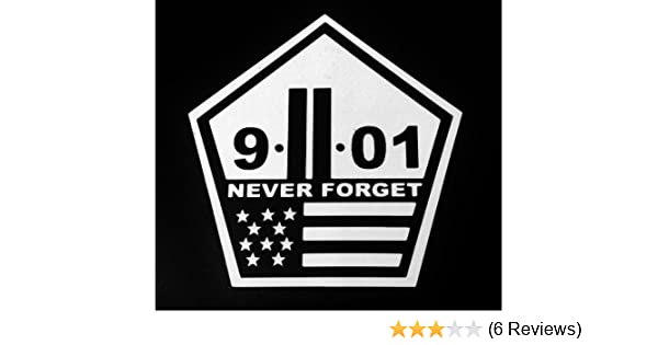 Amazon com us made never forget world trade center sticker decal 9 11 nyc vinyl sticker decal automotive