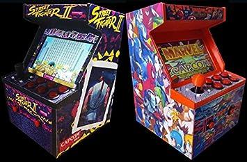 Amazon.com : Mini 3D Printed Arcade Cabinet (Raspberry Pi 3, Retro ...