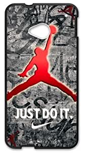 Hoomin Cool Air Michael Jordan Design HTC One M7 Cell Phone Cases Cover Popular Gifts(Laster Technology) by ruishername