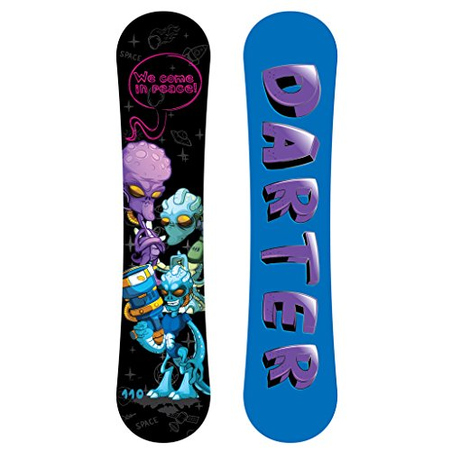 Darter All Mountain Freestyle Kids Twin Tips Snowboard 130cm With Anti-Friction UV