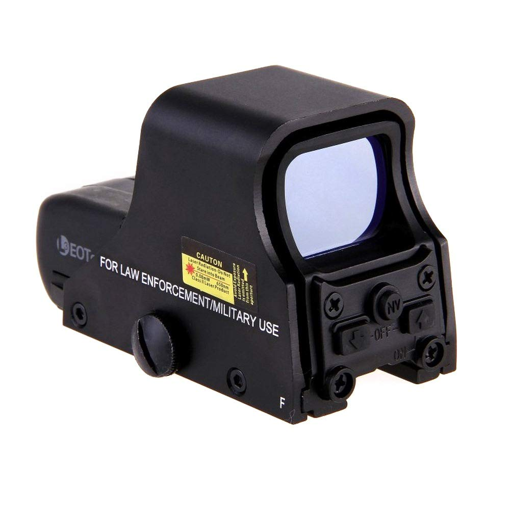 Mahaishangmao Red Green Dot Sight Scope - Hunting Opticscompact ReflexHolographic Reflex Red Green Dot Sight Scope, Red Green Dot Sight Hd 551 Tactical Airsoft Scope
