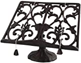 cast iron cookbook stand - Esschert Design Cast Iron Cookbook Stand