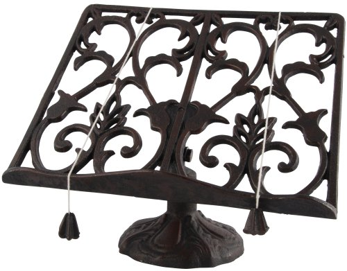 - Esschert Design Cast Iron Cookbook Stand