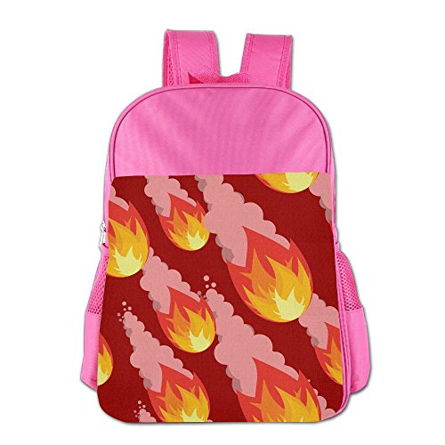 Fire Ball Children's Backpack School Bag Suitable For 4-15 Year Olds