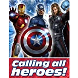 The Avengers Party Invitations (8 ct)