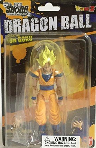 Bandai Shokugan Shodo Dragon Ball Z Super Saiyan Son Goku Action Figure