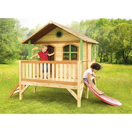 Axi Kinder Spielhaus Stef mit Terrasse - Stelzenhaus