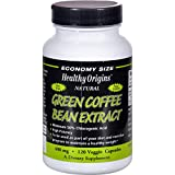 Healthy Origins Green Coffee Bean Extract 400 mg - 120 Vcaps (Pack of 2)