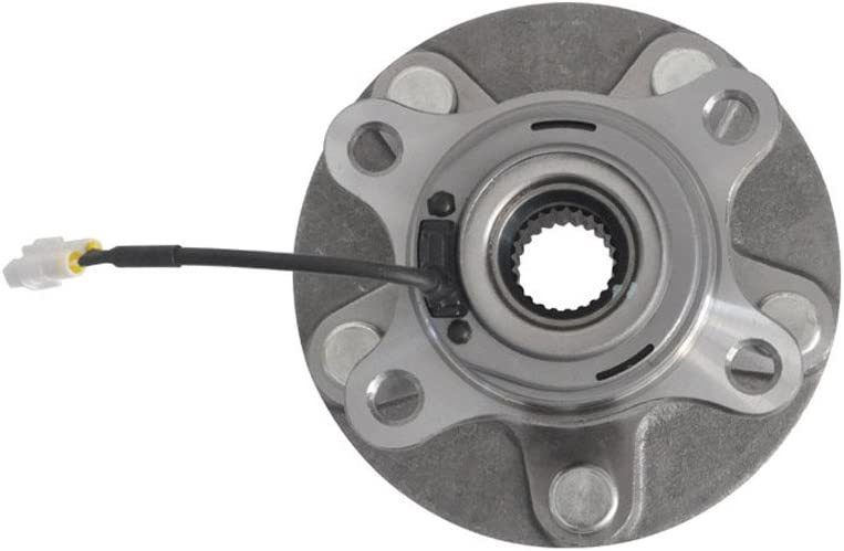 DRIVESTAR 512393x2 Set of 2 Rear Wheel Hub /& Bearing for 07-2013 Suzuki SX4 AWD