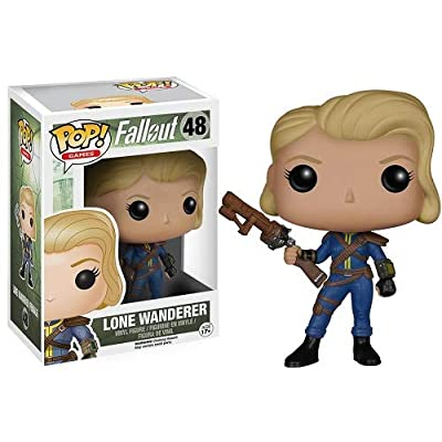 POP Games: Fallout - Lone Wanderer Female: Funko Pop! Games:: Toys & Games