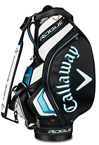 Callaway Golf 2018 Rogue Staff Cart Bag, Black/ White, Normal