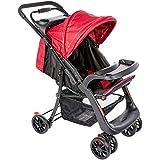 Carrinho de Bebê Shift Infanti - multicor( preto/vermelho)