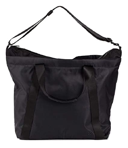 79e67b8c21 Amazon.com: Lululemon Carry The Day Bag (Black): Clothing