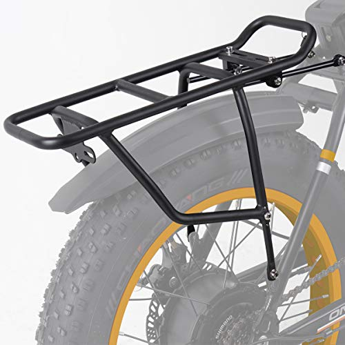 ONWAY Rear Bike Rack - ATV Cargo Rack for Folding Electric Bicycle (HF-201701D) (Rack Duty Rear)