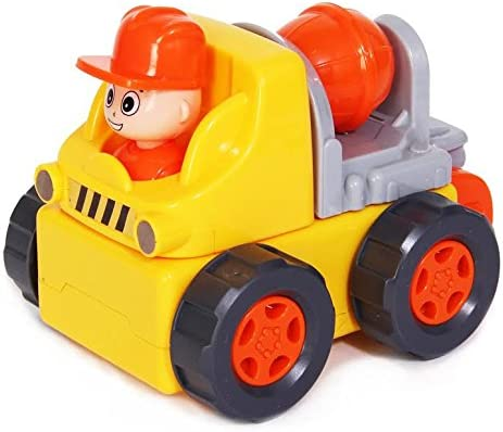 Dazzling Toys Electric Toy Construction Truck - 9 Piece Assemble Yourself Building Car - Drives and Plays Music / Dazzling Toys Electric Toy Construction Truck - 9 Piece Assemble Yourself Building Car - Drives and Plays Music