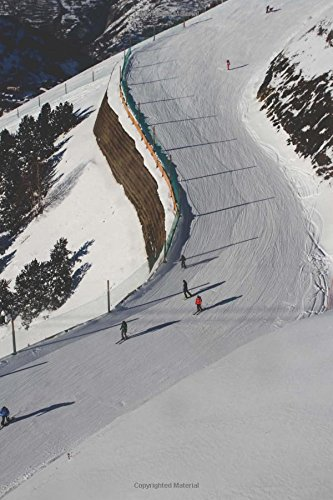 Ski Slope at a Ski Resort Winter Sports Journal: 150 Page Lined Notebook/Diary pdf