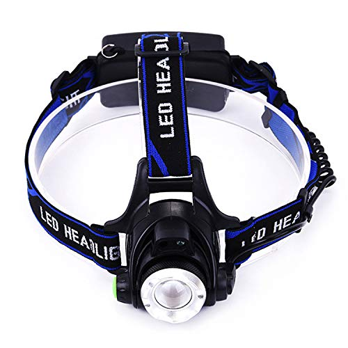 BlueGiant Headlamp Flashlight, Rechargeable, Xtreme Bright, led Rechargeable, Battery Powered, Adjustable Angle, for Running and Camping.