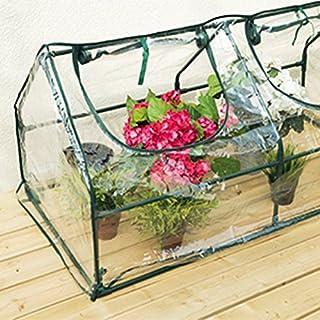 Scotrade Elegent Garden Cloche Greenhouse Ideal for small gardens, patios and balconies.