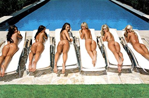 (Frame USA Sunbed Girls Poster (24x36) PSA033550 Individually)