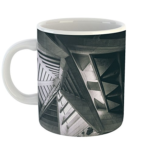 Westlake Art - Building Urban - 11oz Coffee Cup Mug - Modern Picture Photography Artwork Home Office Birthday Gift - 11 Ounce (FB48-1DCA7)