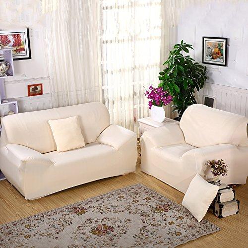 Buy Sectional Sofa In Dubai: ELEOPTION Stretch Fabric Sofa Slipcover 1 2 3 4 Piece