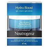 Neutrogena Hydroboost Gel Face Cream with Hydrating Hyaluronic Acid Serum, Moisturizing Skin Care, 47 mL