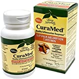 Terry Naturally CuraMed BCM-95 Curcumin -Better than Tumeric 750 mg 60 Softgels