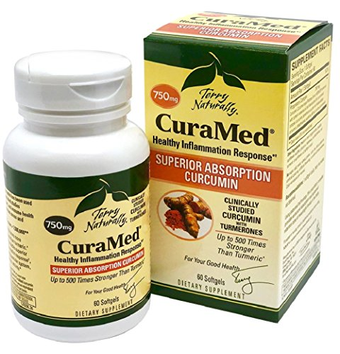 (Terry Naturally CuraMed 750 mg 60 Softgels)