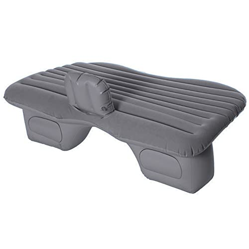 Gaorui Car Inflatable Mattress Travel Air Bed Camping Inflation Mat with Pump Pillows