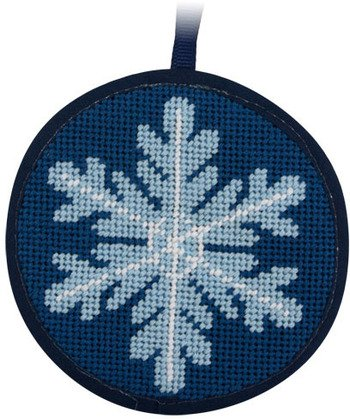 Snowflake Christmas Ornament - Needlepoint Kit Alice Peterson 7003 AP-SU7003
