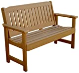 Highwood Lehigh Garden Bench, 5 Feet, Toffee