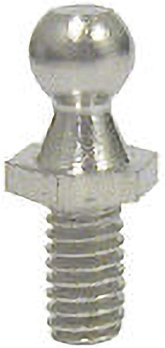 Una coppia di viti prigioniere a sfera M8 per puntoni a gas in acciaio inossidabile con estremit/à a sfera in acciaio inossidabile
