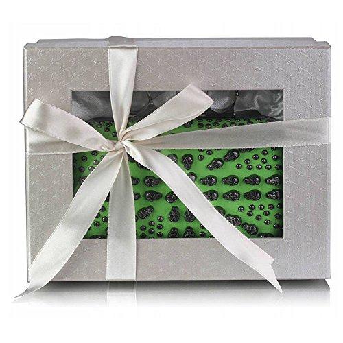 TrendStar - Cartera de mano mujer Verde - Green Knuckle Clutch Bag