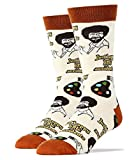 Oooh Yeah Socks Men's Luxury Combed Cotton Funny (Happy Lil Accidents)