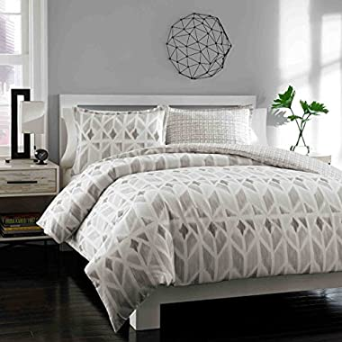 City Scene Duvet Cover Set, King, Grayson