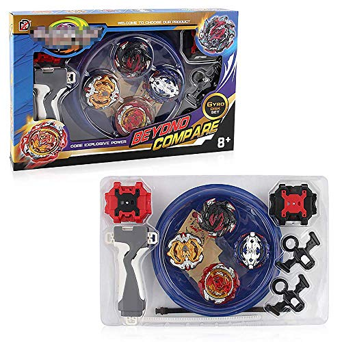 3T6B Bey Battle Set 4 in 1 High Performance Metal Fusion Master Beystadium Included
