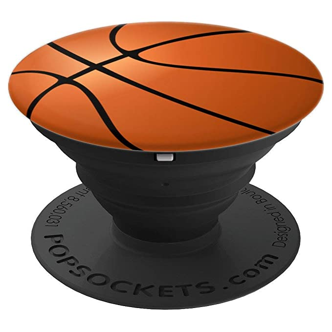 Basketball Phone Pop Grip Accessory for Basketball Fans - PopSockets Grip and Stand for Phones and Tablets