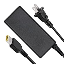 65W AC Power Adapter 20V/3.25A AC Laptop Adapter for Lenovo ThinkPad X230s X240 X240S X250 X270 T440 T440S Z50-70 K4450 M5400; Essential G400 G405 G500 G505 G40-70 G50-70;Edge E431 E531;IdeaPad Yoga2 11 11s 13 (20V 3.25A USB)