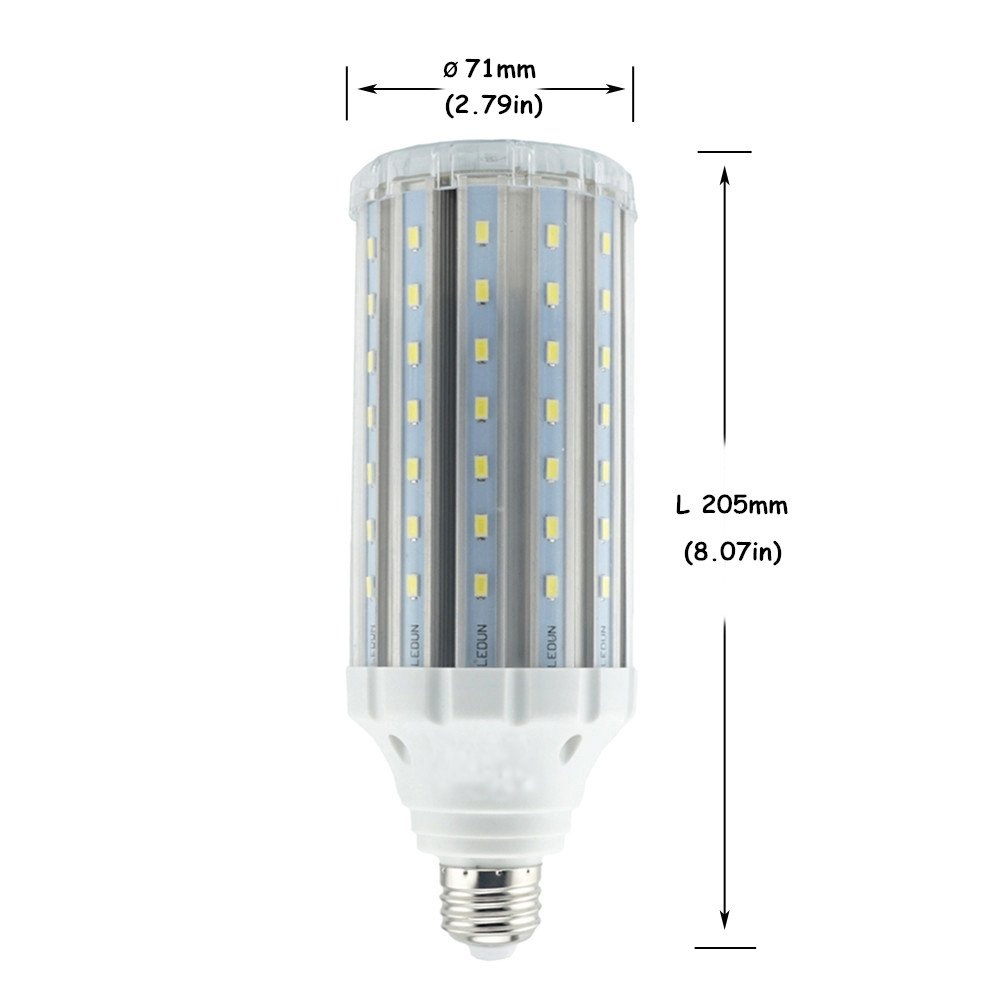 Residential Garage Led Lights: Led Corn Light Bulb 35W Medium Screw Base E26/E27 Garage