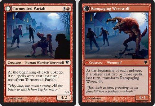 Magic: the Gathering - Tormented Pariah // Rampaging Werewolf - Innistrad