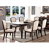 Furniture of America Dorin 7-Piece Dining Set